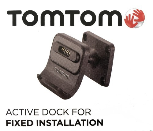 TomTom Fix installation dock vr. TomTom GO 5200