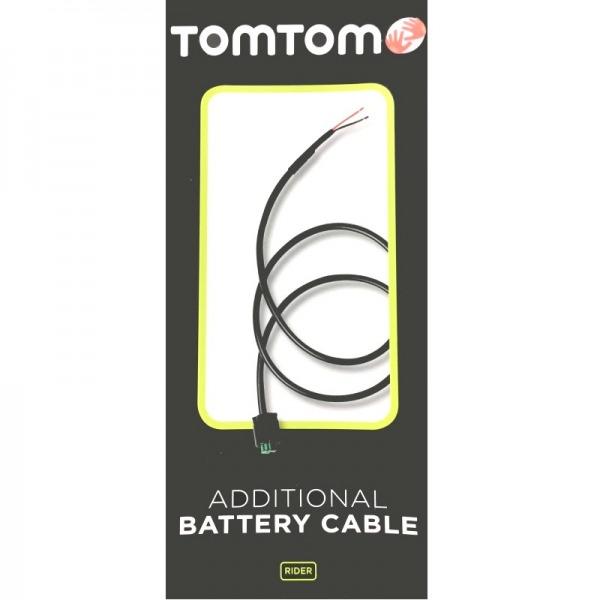 TomTom accukabel vr. TomTom Rider (2013)
