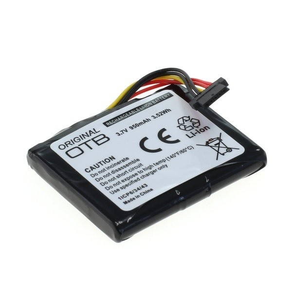 Batterij voor Blue & Me TomTom 2  Live